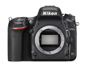 Nikon D750 appareil photo numérique reflex 24.3 Mpix boitier nu
