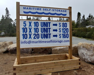 6' X 8' Portable or Planter Box Sign