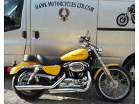 STUNNING 2007 HARLEY DAVIDSON XL1200C SPORTSTER, 7488 MILES, 2 OWNERS,