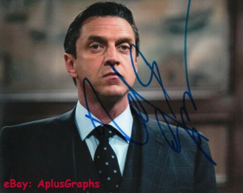 RAUL ESPARZA.. Law & Order: SVU's Barba - SIGNED