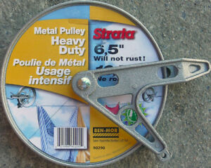 *NEW*Heavy Duty Metal Pulley-Clothesline-6.5 inches-RUSTPROOF-St