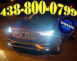 VOLVO HEADLIGHTS LED LIGHTS HID XENON KIT CONVERSION HI FOG CAR