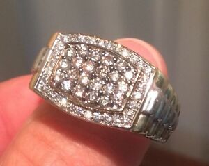 Men's 1 CT. T.W. Diamond Ring