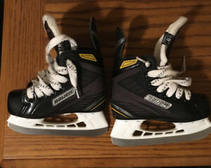 Bauer Skates Size Youth 8