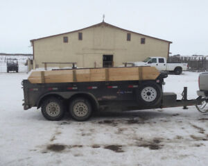 14 ft Hitech Dump Trailer
