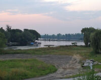 Waterfront lot for Sale with Building Permits St. Lawrence