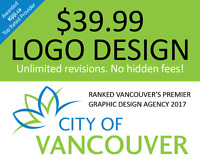 $39 Logo Design & Graphic Design in the Greater Vancouver Area!