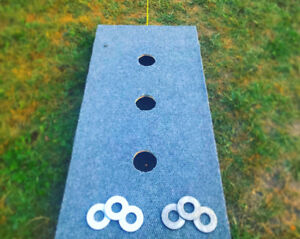 Custom 3 hole washer toss ! (Better than the ones in stores!)