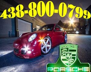 PORSCHE HEADLIGHTS LED HID XENON KIT CONVERSION CAR KIT LIGHTS