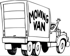 Removal services house and office man with a van house moves low cost