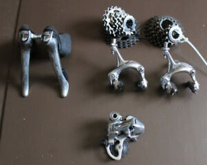 DURA ACE 7700 and Ultegra 6610 shifters MANNETTES Groupset