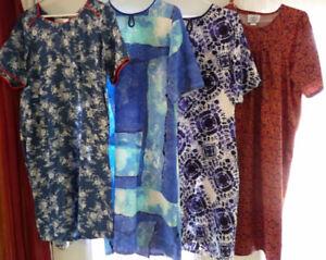 Lot de 4 robes adaptées pour Femme (Small)