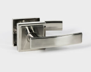 Holland Modern Square Interior Door Handles Levers Lock Set