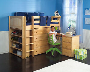 QUALITY KIDS_CHILDREN_BEDROOM FURNITURE_LOFT& BUNK