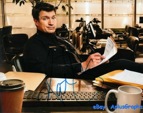 NATHAN FILLION.. The Rookie - SIGNED