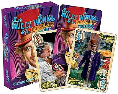 Willy Wonka (Gene Wilder) set of 52 playing cards (+ jokers) (nm 52477)