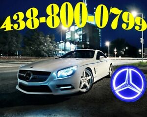 MERCEDES HEADLIGHTS LED HID XENON KIT CONVERSION CAR LUMIÈRES