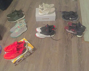 Variety of Lightly Used and New Basketball Shoes n Ultra Boost