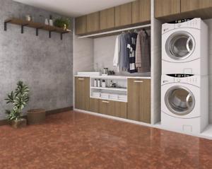 Create a better basement, go with cork flooring