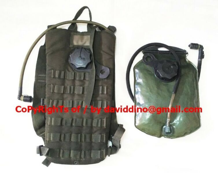 ~~~ MiLiTarY GraDe 1 L Hydration BackPacK  (WaTer Bags) $25 ~~~