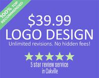 $39 Logo Design / Website Design Services in the Oakville Area
