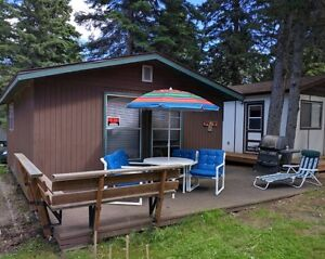"""CLEAR LAKE, Wasagaming,MB - Cabin for Sale """"Old Campground"""""""