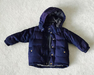 Baby Gap Down Filled Winter Coat size 2T only $45!!
