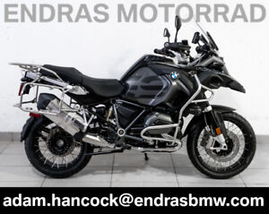2018 BMW R1200GS Adventure - BRAND NEW - Black Storm Metallic