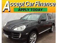 Porsche Cayenne 4.8 Tiptronic S S FROM £62 PER WEEK !