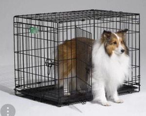 Dog crate cage a chien