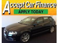 Audi A3 2.0TDI ( 140ps ) Sportback 2012MY S Line FROM £48 PER WEEK !