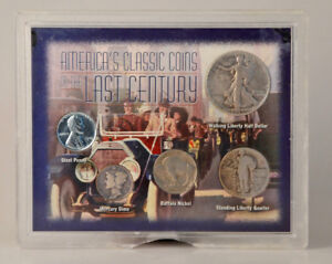 USA Coin Set - America's Classic Coins of the Last Century
