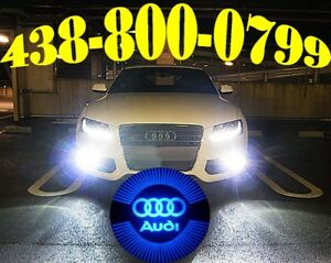 AUDI HEADLIGHT LED HID XENON KIT CONVERSION CAR LUMIÈRES LIGHTS