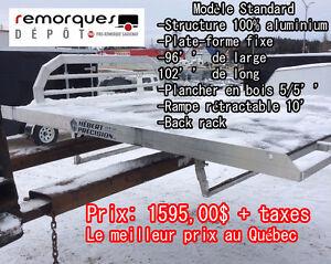 Plate-forme pour camion - Sled-Deck - Aluminium - 1595$