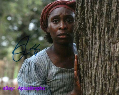 CYNTHIA ERIVO.. as Harriet Tubman - SIGNED