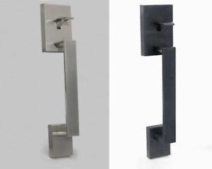 Century / Tavaris Square Residential Entry Door Handleset Lock