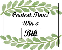 Contest!! Win a baby bib from Jak Lee Baby!!