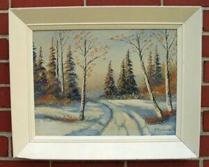 Oil Paintinngs Algonquin Paavo (Pauli) Hyttinen, 1911 - 1964
