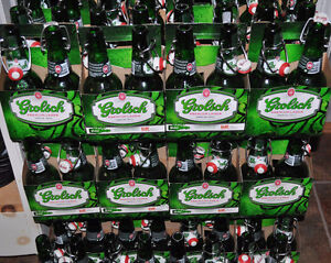 10 dozen Grolsch fip top bottles