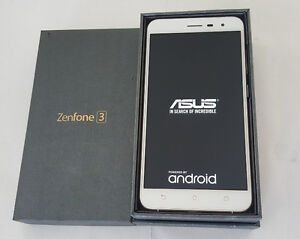 Brand New in Box Unlocked ASUS Zenfone 3 64GB White ZE552KL