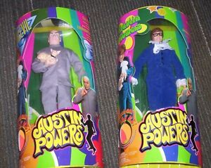 AUSTIN POWERS ACTION FIGURES mini me, shagwell, fat man, NEW! Kitchener / Waterloo Kitchener Area image 3