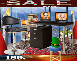 home office writing tables & arm chairs, workstations desks,7189