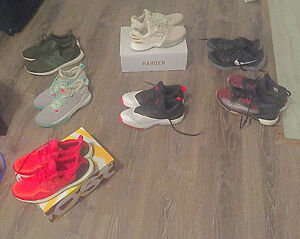 Variety of Lightly Used and New Basketball Shoes n Ultra Boostlo