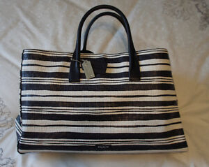 Leather Coach Bleecker Studio Tote