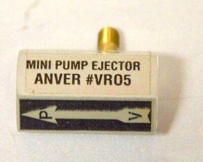 Anver Mini Vacuum Pump Ejector Vr05 - 14npt