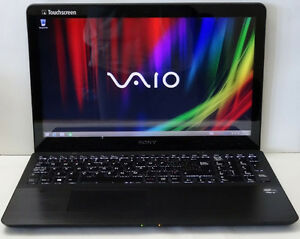 Sony vaio touch screen laptop windows 10