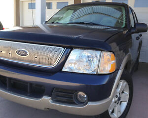 03 Ford Explorer EDDIE BAUER, 4X4, LEATHER, 7seat - FULLY LOADED Moose Jaw Regina Area image 10
