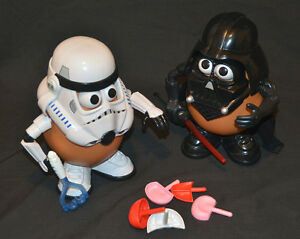 STAR WARS Darth Vader and Stormtrooper Mr. Potatoehead