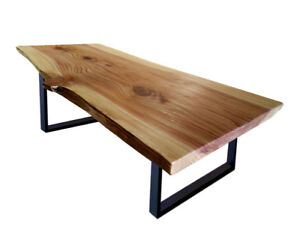 Life custom edge table, Canadian red wood, handcrafting  1 990 $