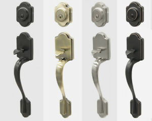 Residential Exterior Door handleset lockset Lock Brand New